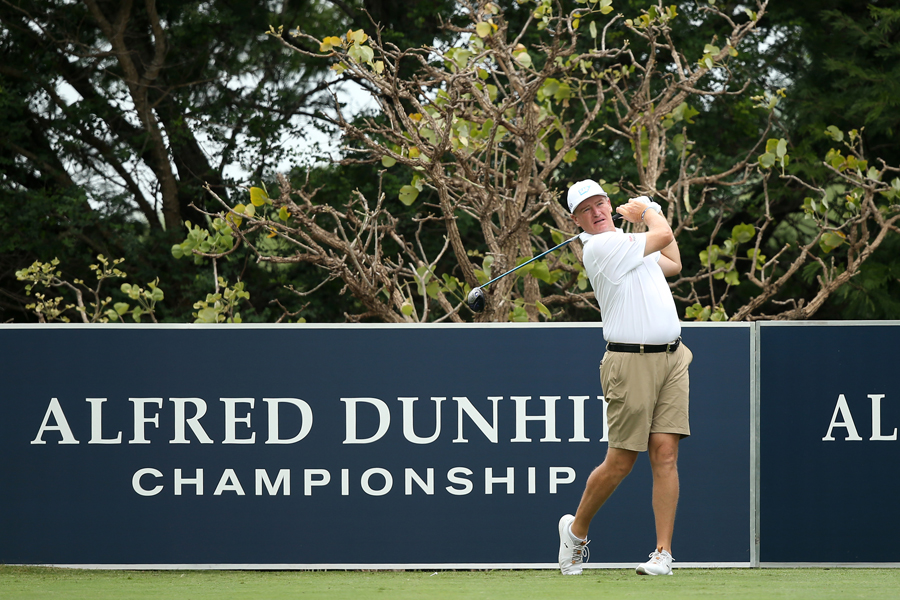 It was an historic moment as Ernie Els and his fellow professionals were allowed to wear shorts in a European Tour event for the first time because of the oppressive heat at Leopard Creek during the 2019 Alfred Dunhill Championship.