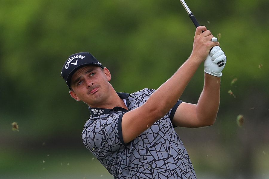 Christiaan Bezuidenhout was well-placed going into the weekend at Leopard Creek.