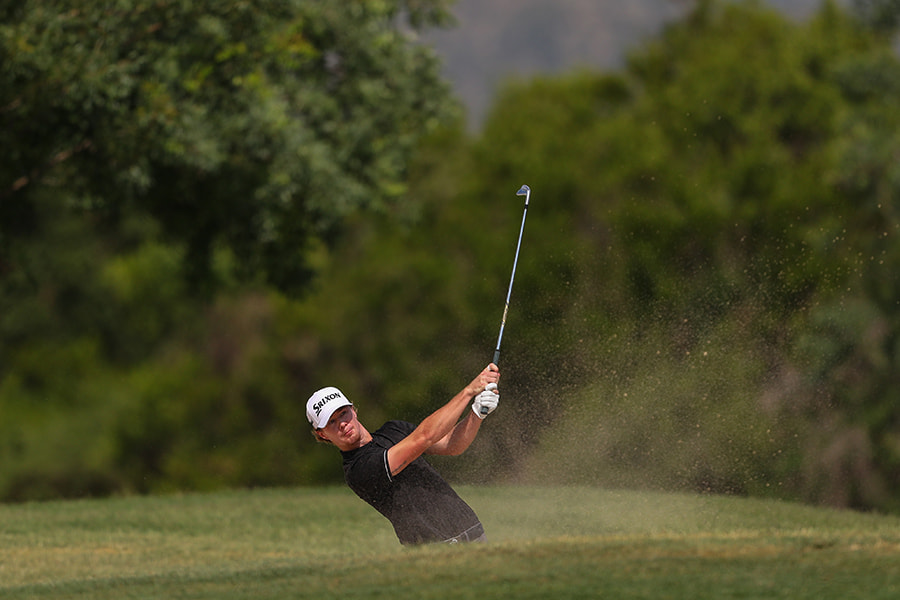 American Sean Crocker finished four shots behind the champion Christiaan Bezuidenhout.