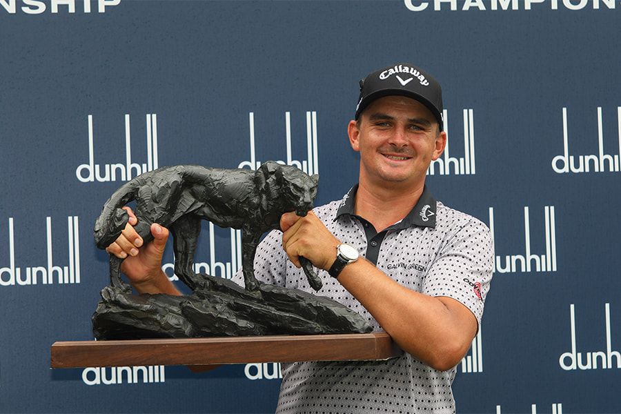"""""""I've always wanted to win this tournament."""" – Christiaan Bezuidenhout."""
