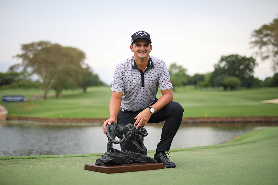 """""""Leopard Creek has always been a special place for me, and the golf course this week was immaculate. You don't get much better than this."""" – Christiaan Bezuidenhout."""
