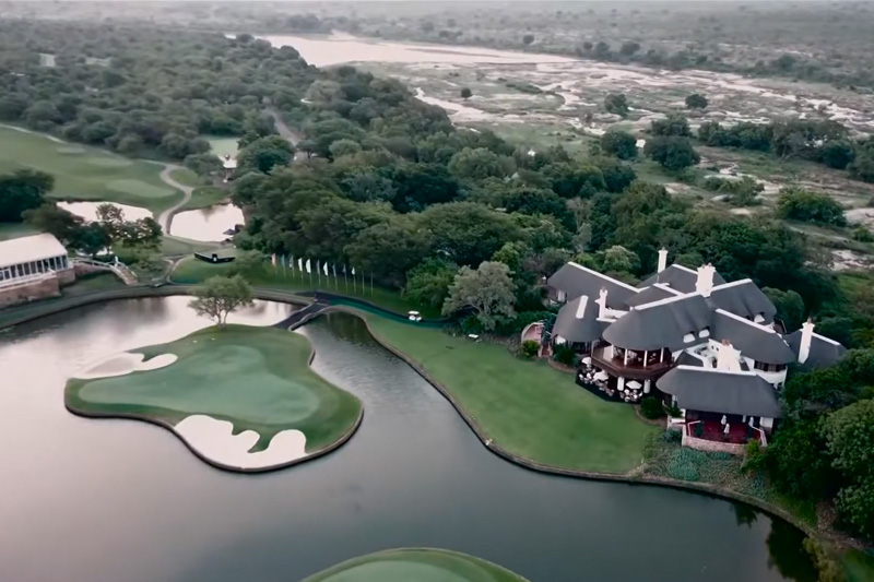 The stunning panoramic vista of Leopard Creek